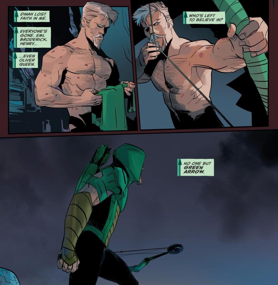 Arqueiro Verde DC Renascimento