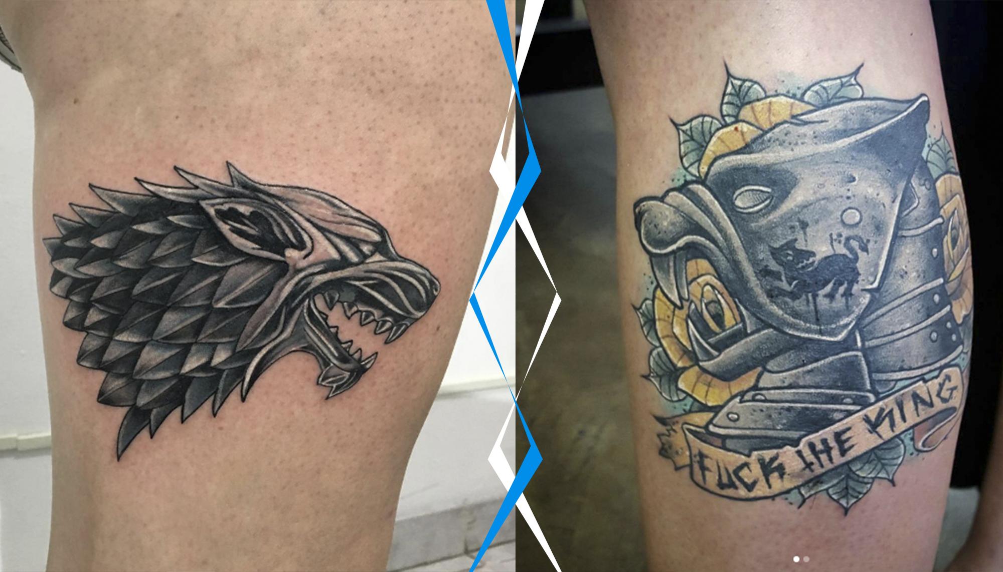 Selecionamos As Dez Melhores Tatuagens De Game Of Thrones