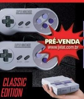 Snes Classic Pre Venda