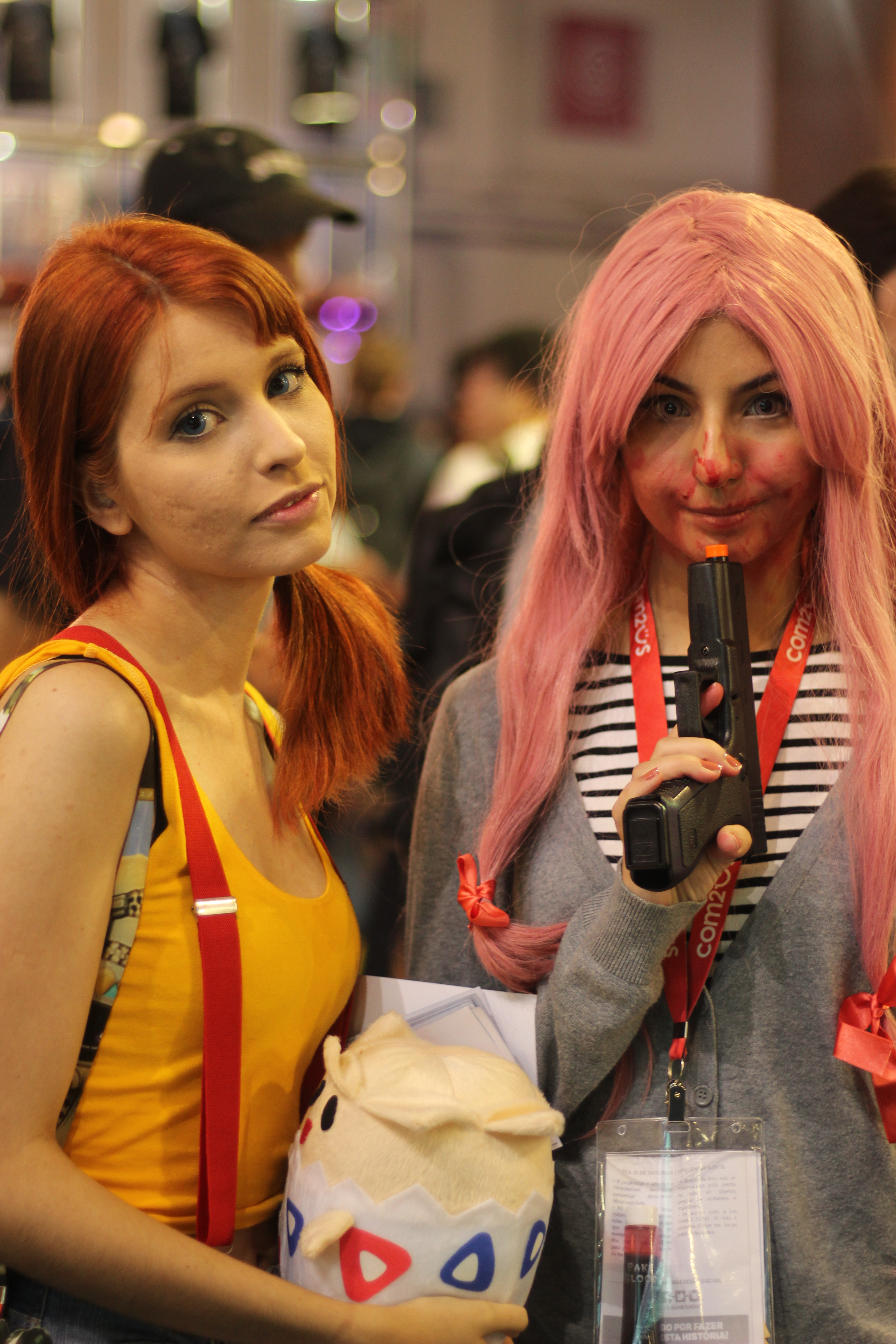 Fotos Cosplayers BGS 2017
