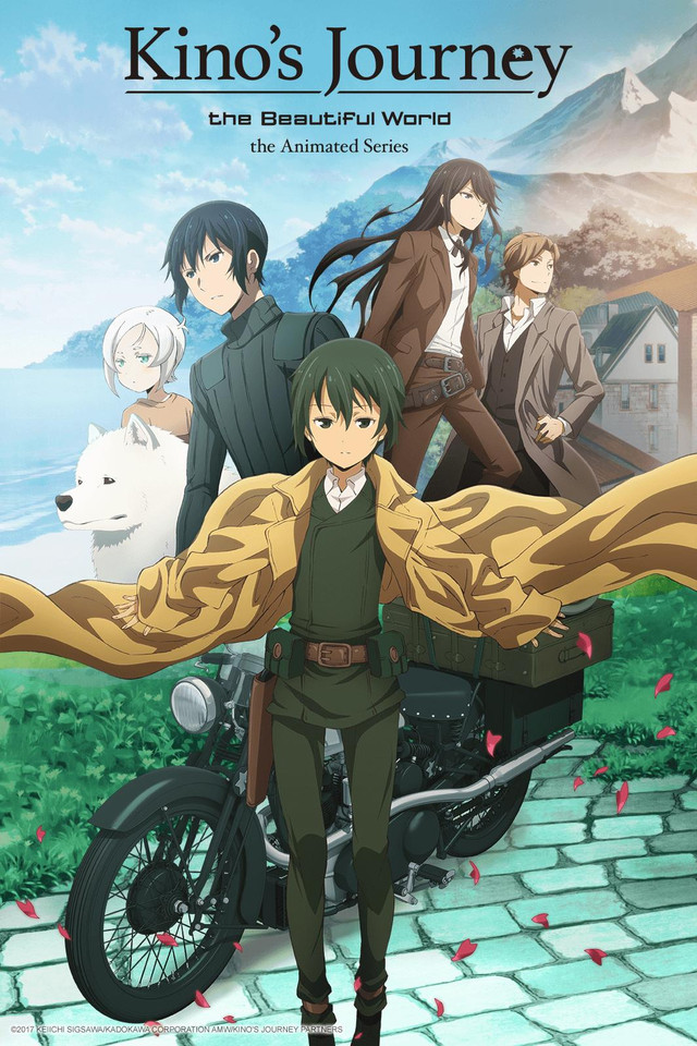 kino no tabi anime poster 2017-top 10 novos animes