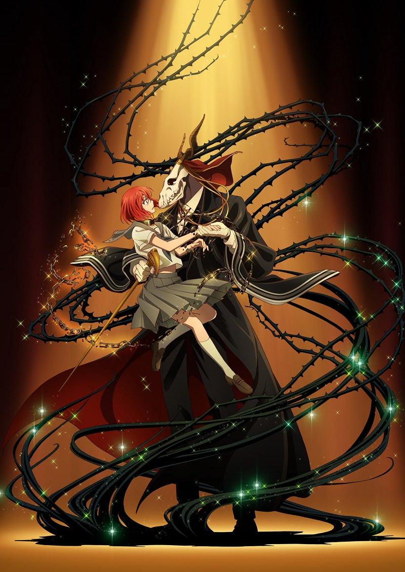 mahoutsukai no yome anime poster- top 10 animes novos