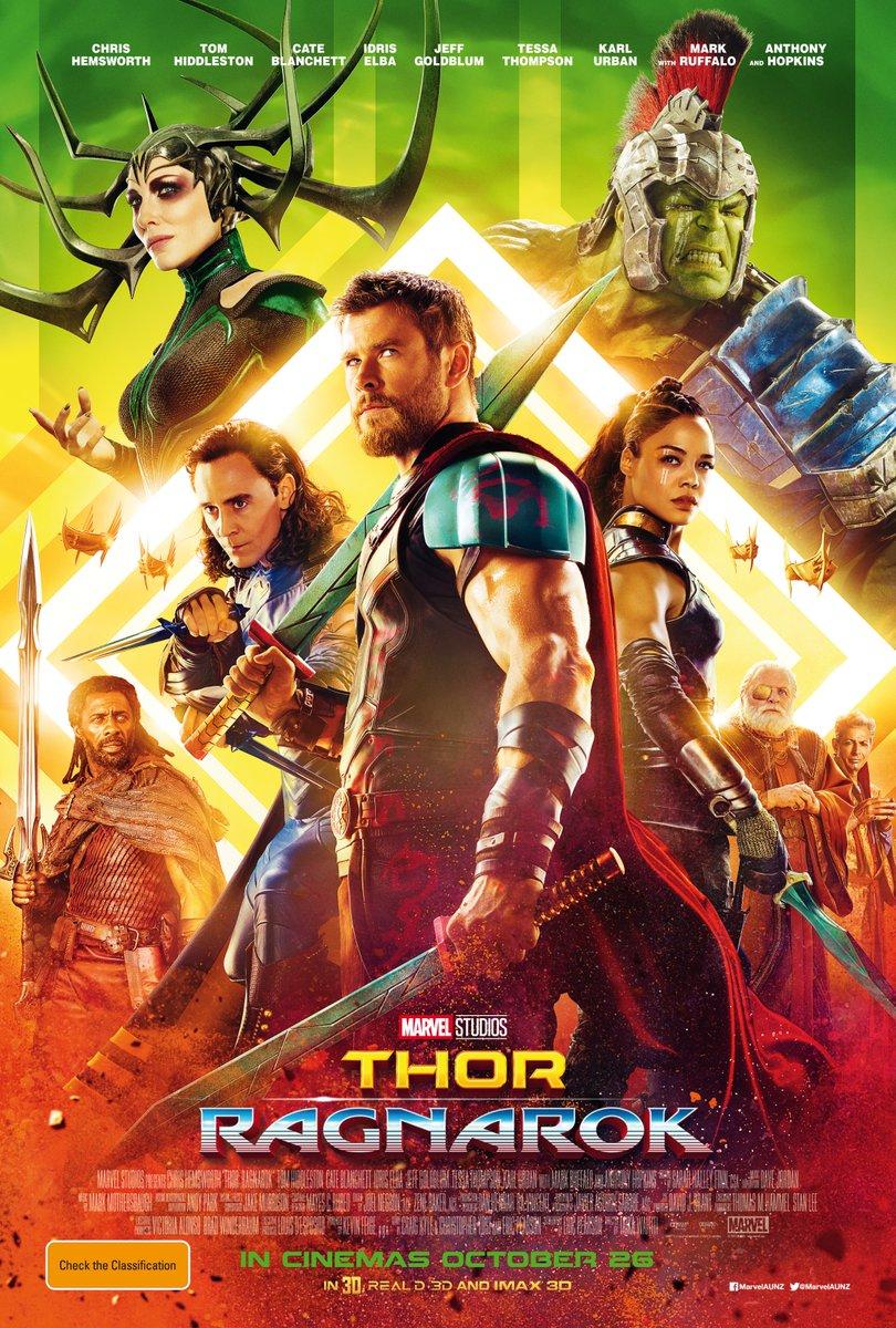thor: ragnarok-filme-poster