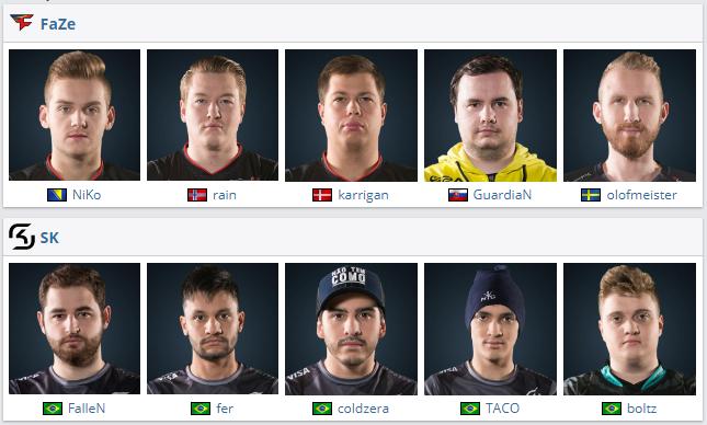SK Gaming vence Grand Final ESL Pro League CS GO equipes times