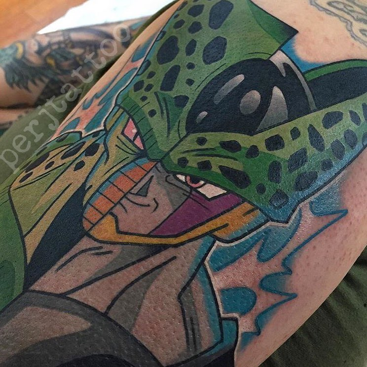 TOP 10 Tatuagens de Dragon Ball Z (Adam Perjatel)