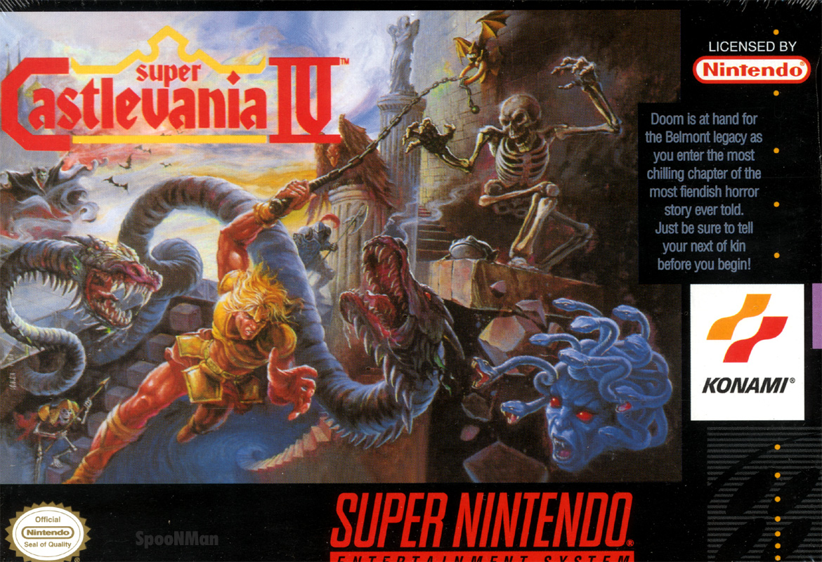 Game Retrô - Super Castlevania IV 4 8