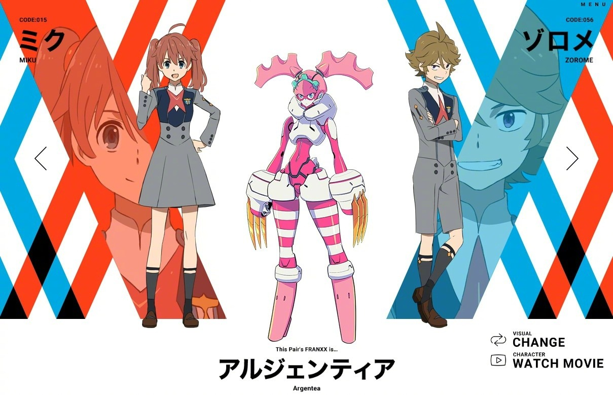 miku-zorome-personagens darling in the franxx
