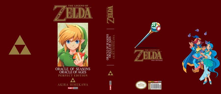 Pre-Venda Mangá Zelda Oracle of Ages da Panini