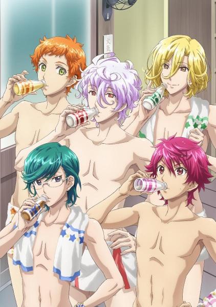 Binan-Koukou-Chikyuu-Bouei-bu-Happy-Kiss!-guia de animes da temporada abril primavera 2018