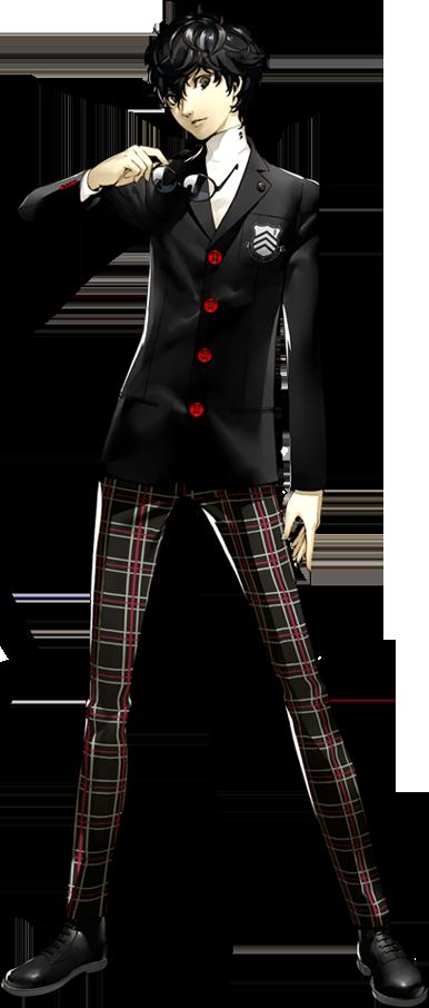 personagens de Persona 5 The Animation