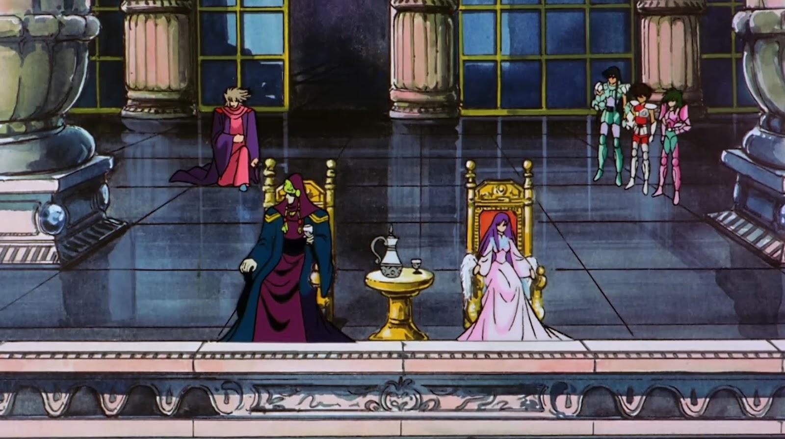 os cavaleiros do zodiaco a grande batalha dos deuses