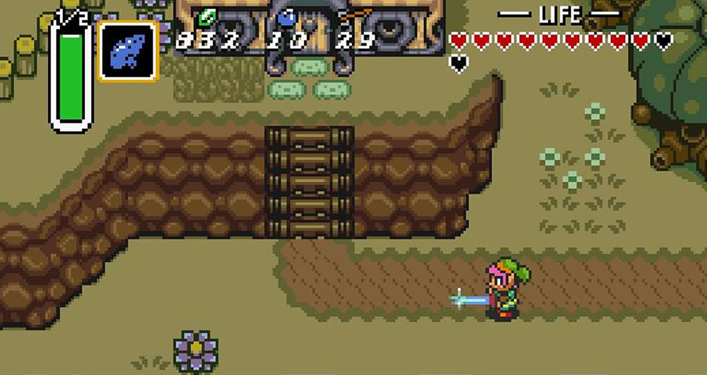 Game Retrô - The Legend of Zelda: A Link to the Past