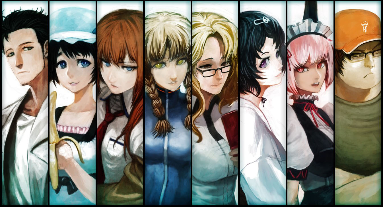 personagens de steins;gate