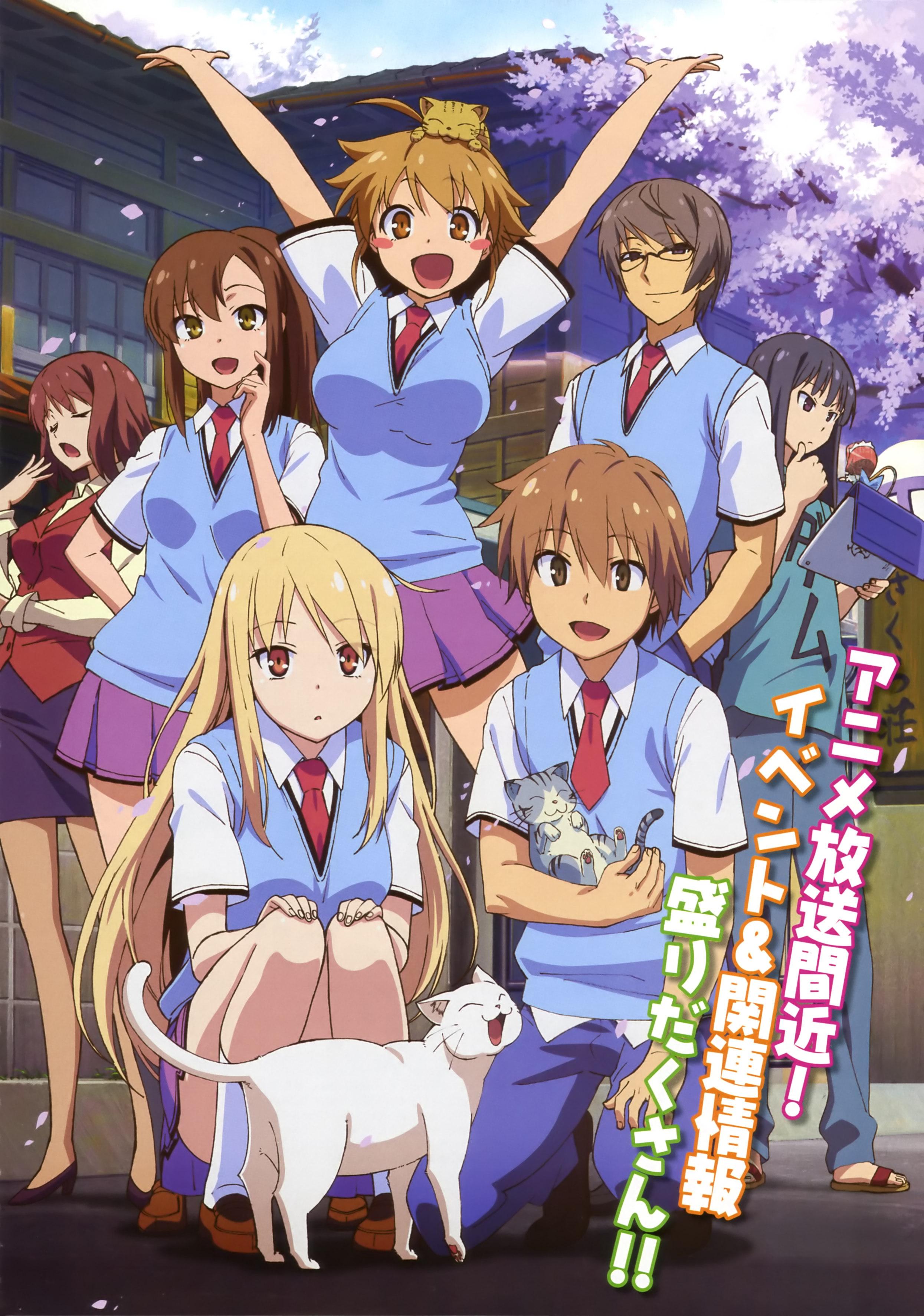 sakurasou-no-pet-na-kanojo-top-Animes de comédia romântica