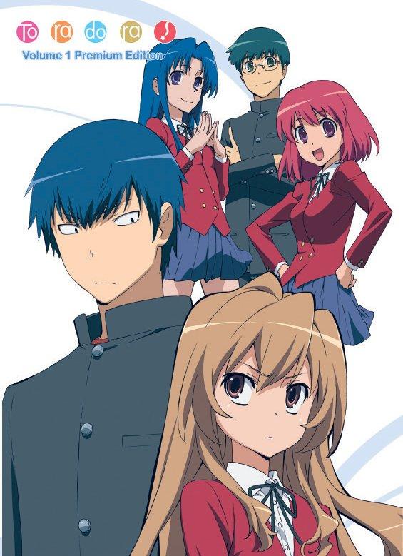 toradora-top-Animes de comédia romântica