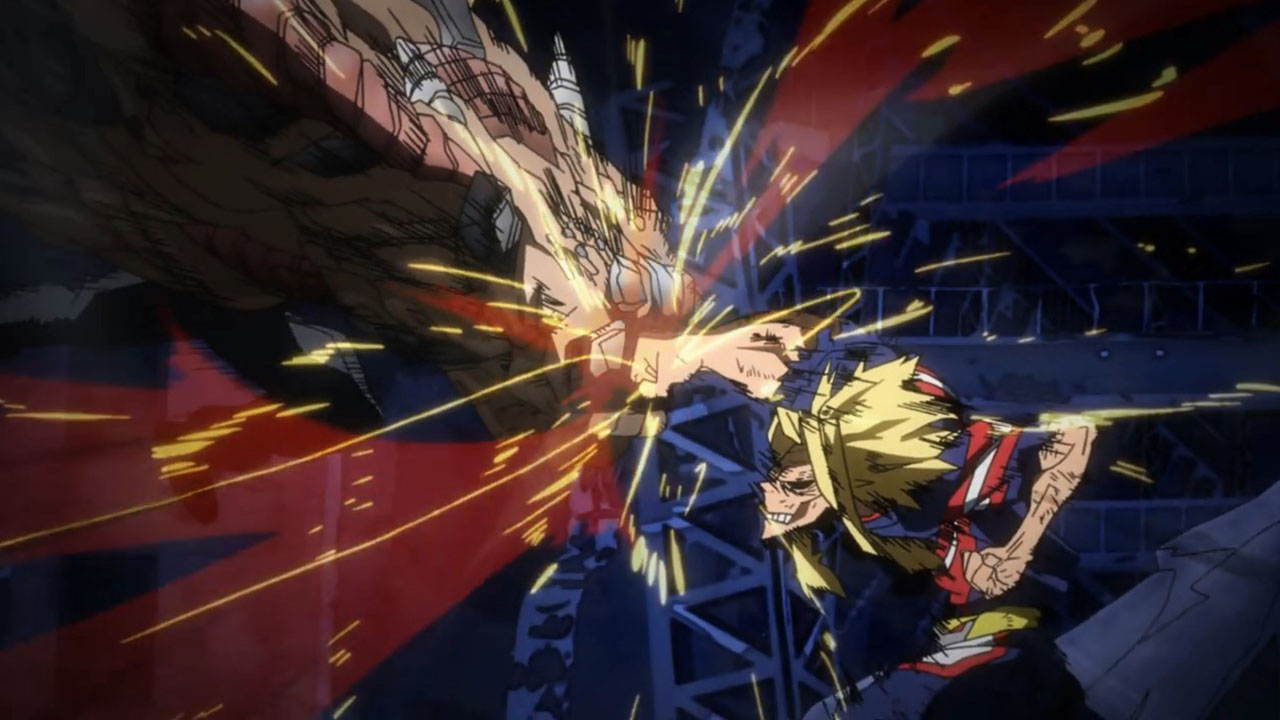 all might vs all for one - momentos marcantes 12