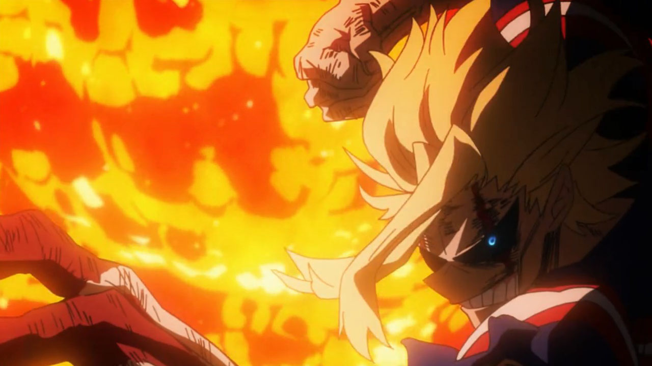 all might vs all for one - momentos marcantes 14
