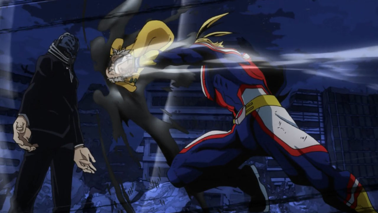 all might vs all for one - momentos marcantes 2