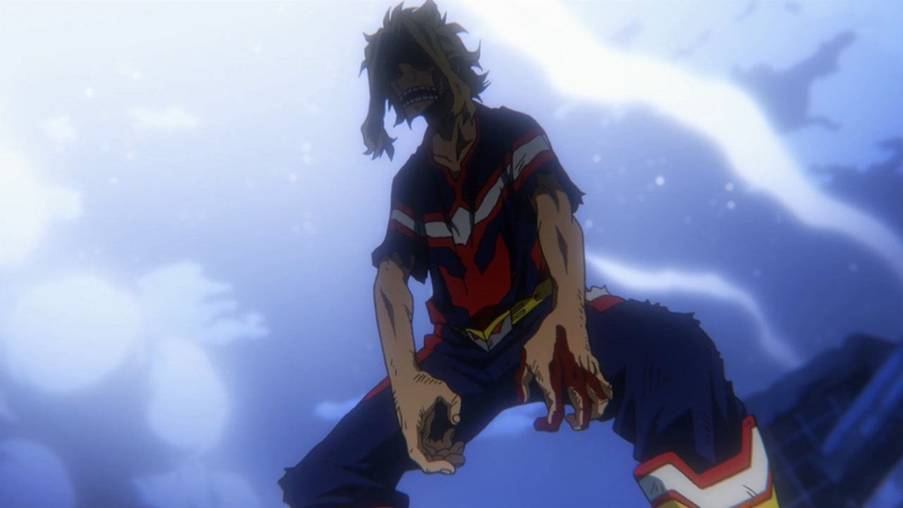 all might vs all for one - momentos marcantes 22