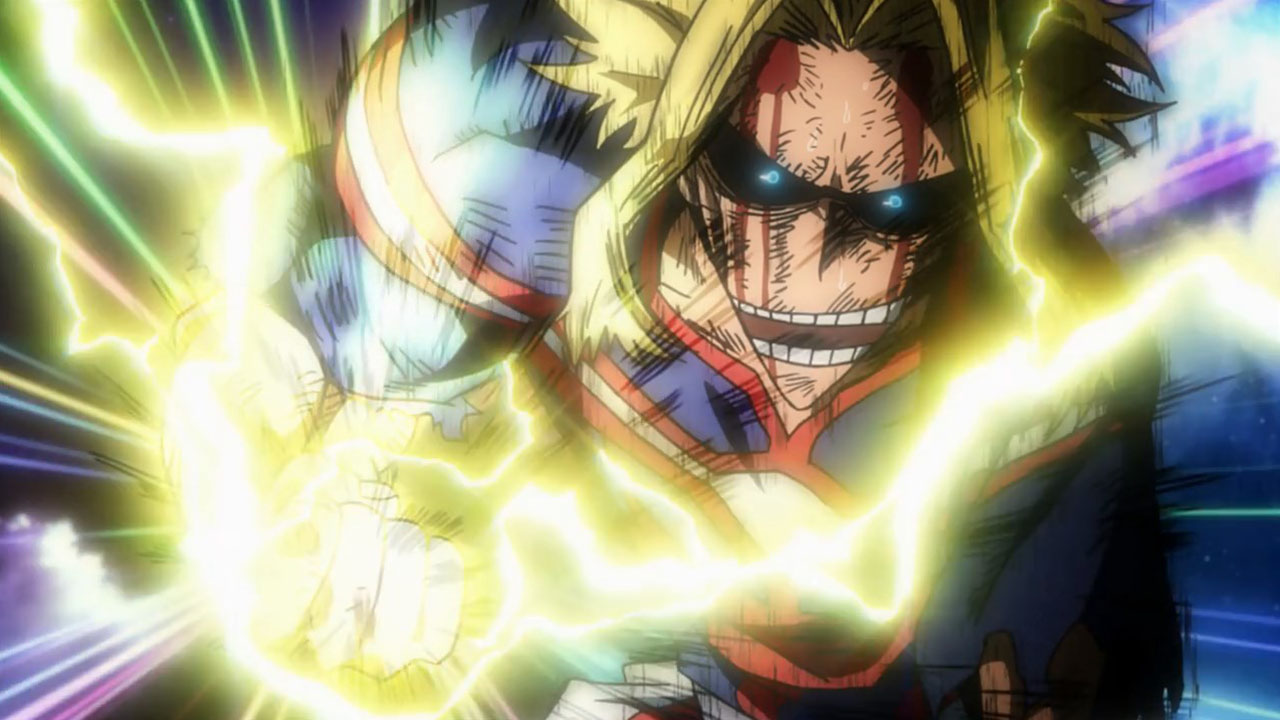 all might vs all for one - momentos marcantes 8