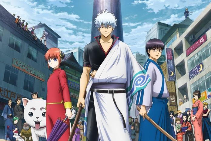 Guia de animes da temporada Julho (Verão) 2018-Gintama-Shirogane no Tamashii-hen 2