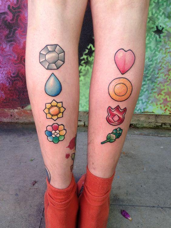 Top 10 Tatuagens de Pokémon