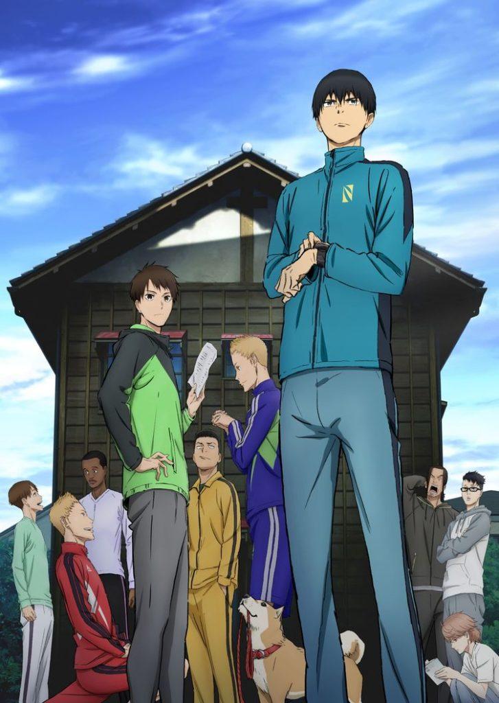 Kaze ga Tsuyoku Fuiteiru Recomendações de Animes da Temporada de Outubro (Outono) 2018.jpg