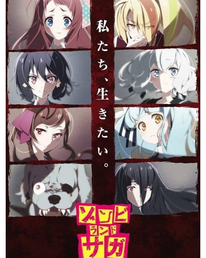 Zombieland saga Recomendações de Animes da Temporada de Outubro (Outono) 2018.jpg