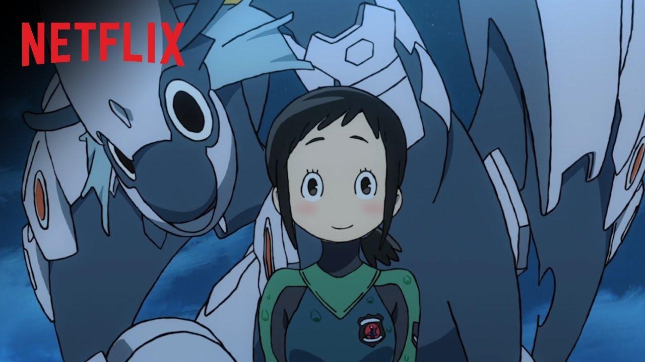 Pilotos de Dragão - Hisone to Masotan - Netflix - Resenha 01