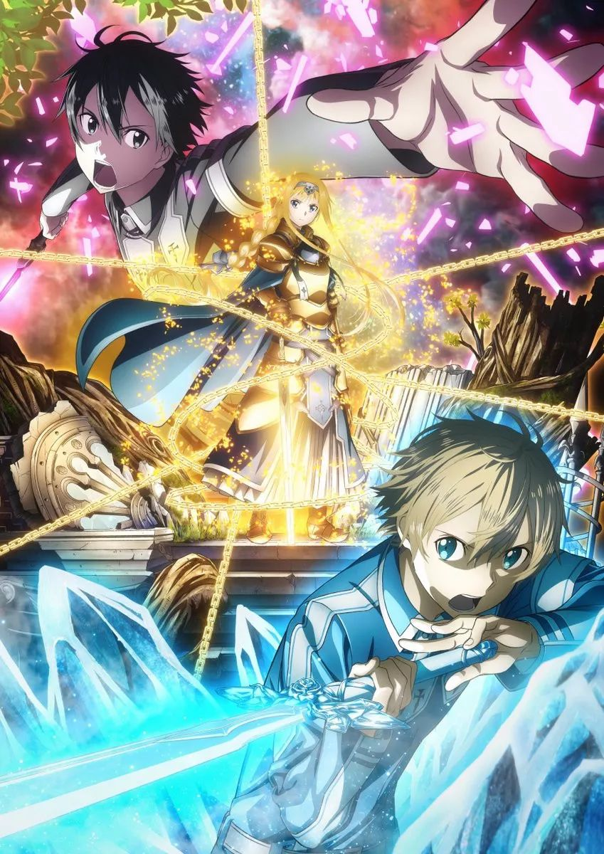 Top 10 melhores animes de 2018 - Sword Art Online Alicization