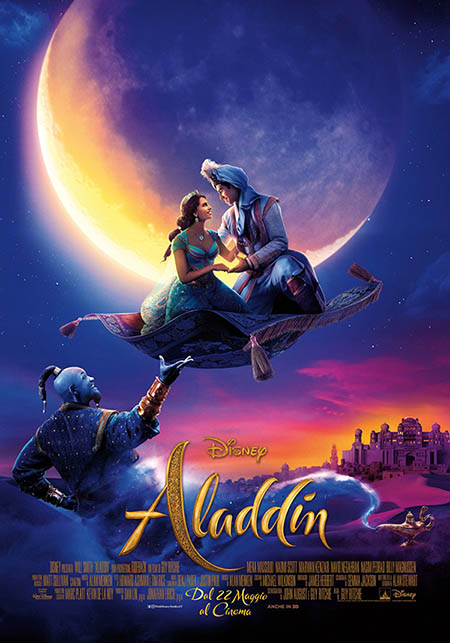 Aladdin (Live Action 2019) - Resenha POster