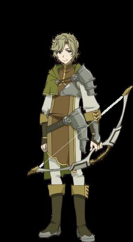 Os personagens de Tate No Yuusha No Nariagari itsuki