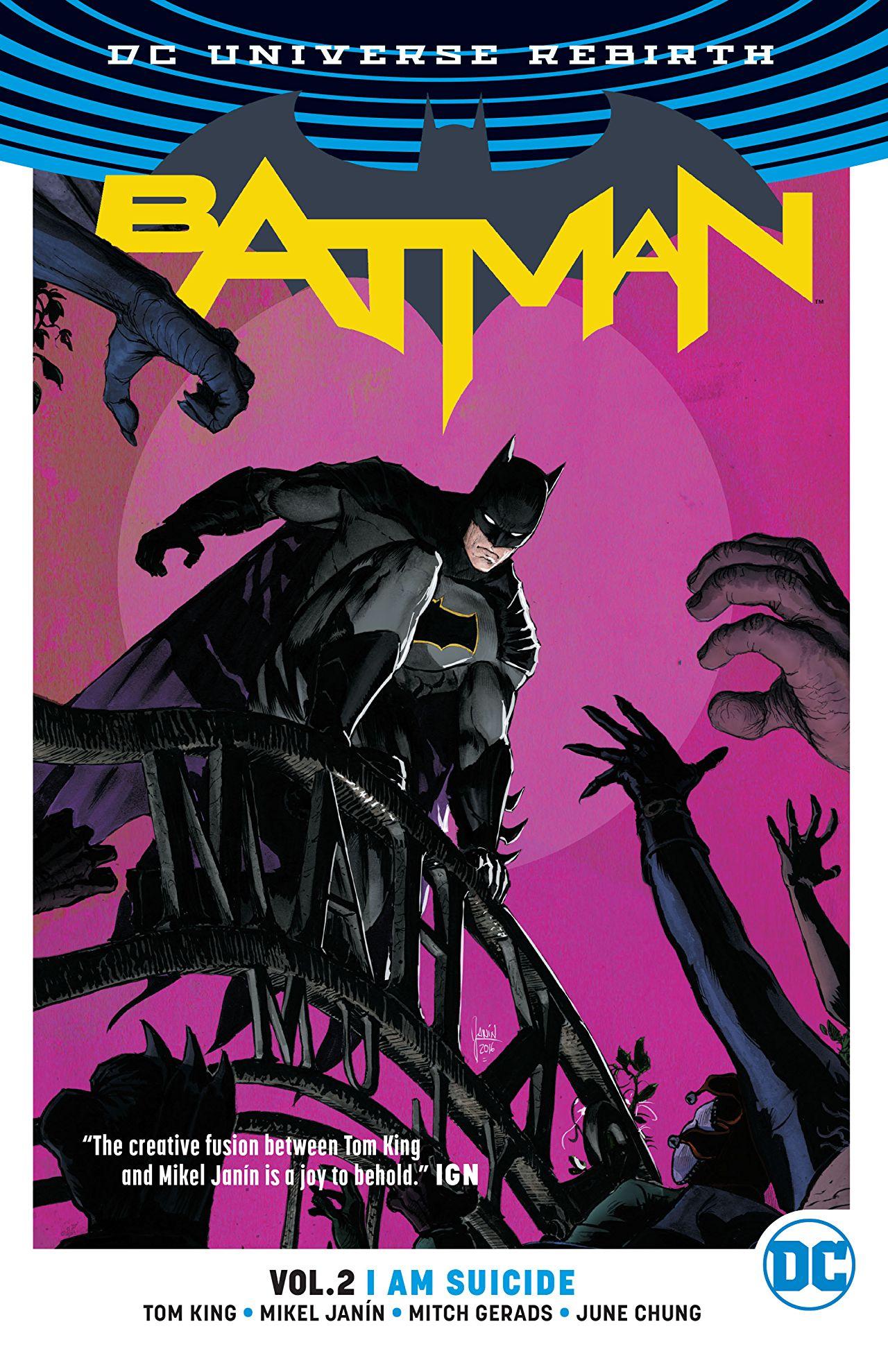 O Batman de Tom King (Renascimento até o Casamento) - Resenha- 03