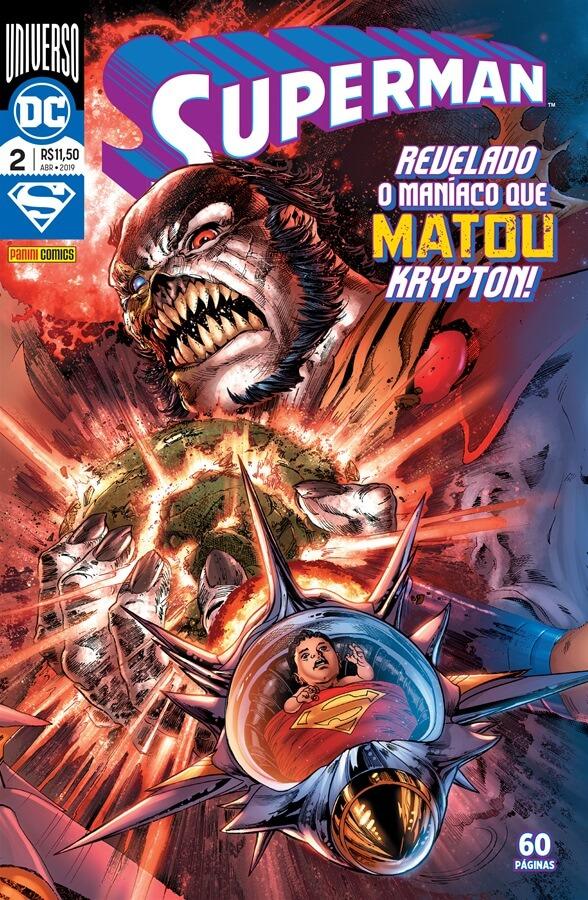 Superman - O Homem de Aço (de Brian Michael Bendis) - Resenha - 02