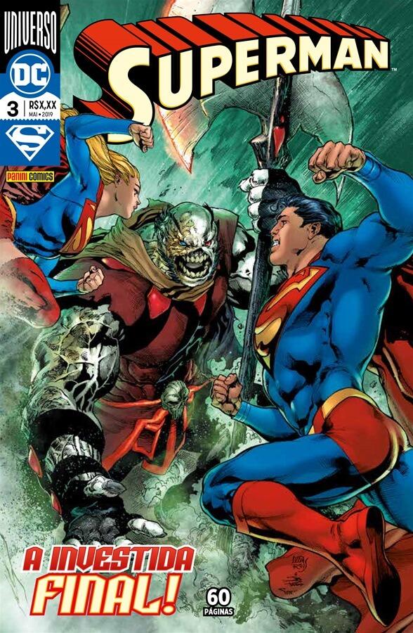 Superman - O Homem de Aço (de Brian Michael Bendis) - Resenha- 03