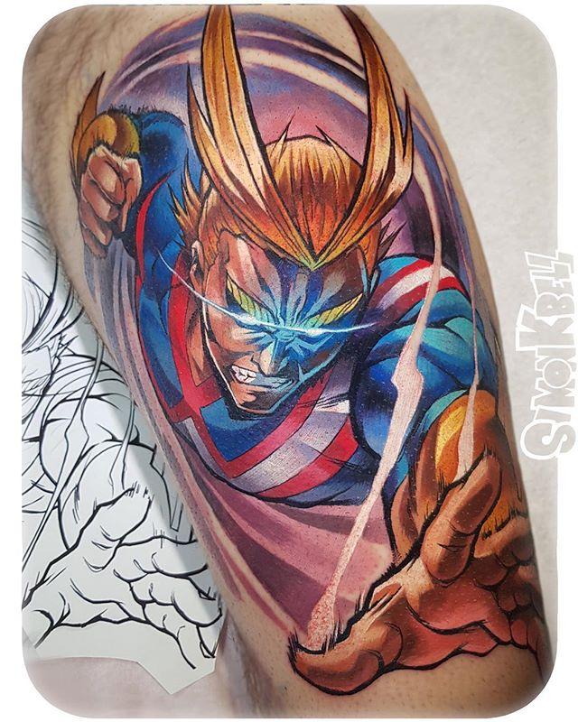 Top 10 Tatuagens de Boku no Hero
