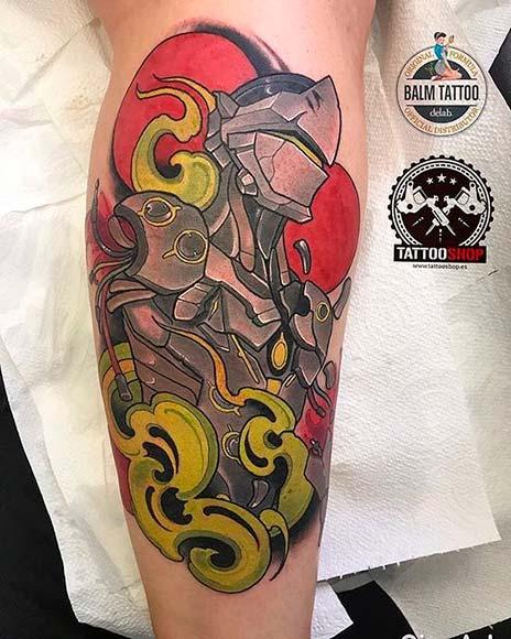 top 10 tatuagens de overwatch