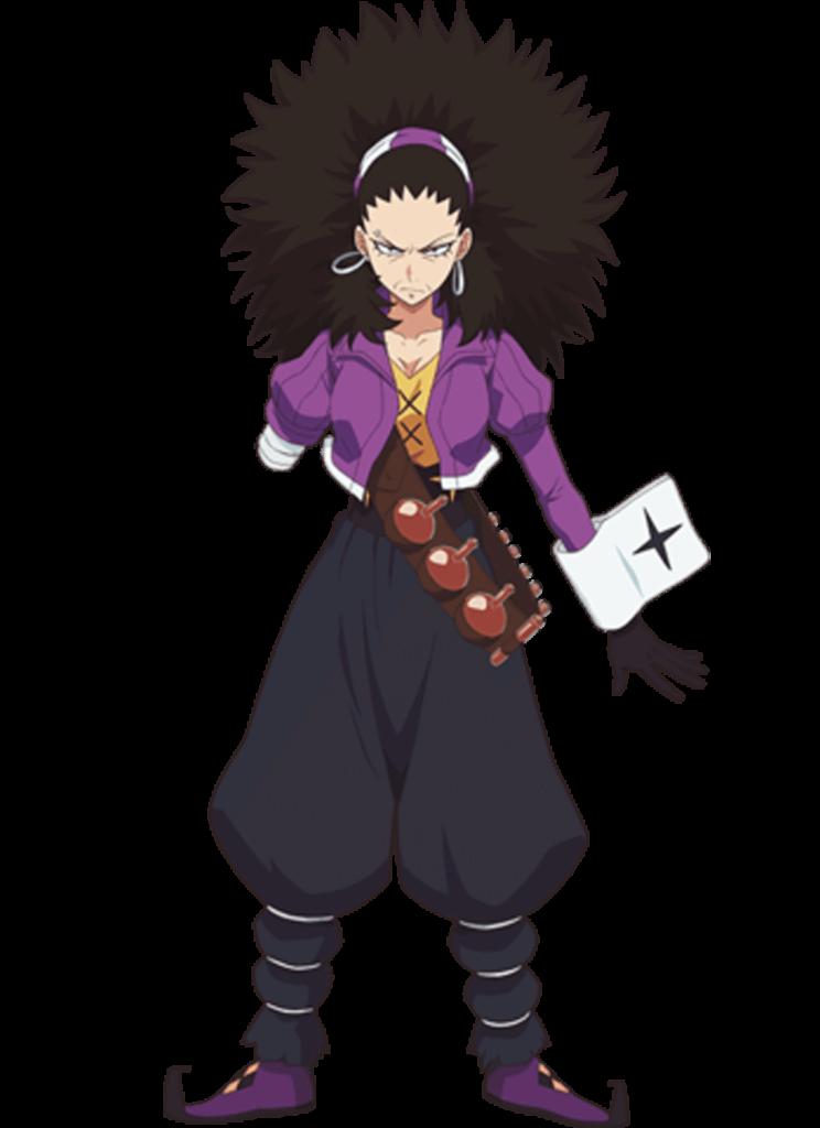 Os personagens de Radiant