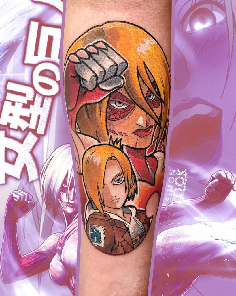 tatuagem annie leonhart