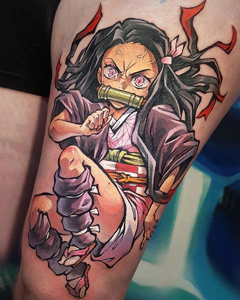 Top 10 Tatuagens de Demon Slayer
