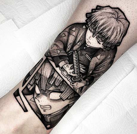 Zenitsu Tattoo