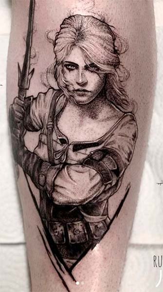 Top 10 Tatuagens de The Witcher
