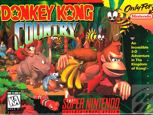 Gameplay de Donkey Kong Country