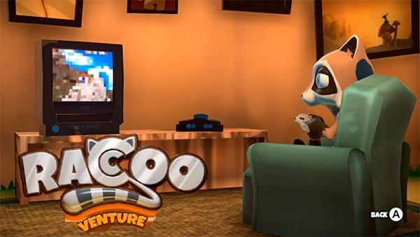 Gameplay de Raccoo Venture