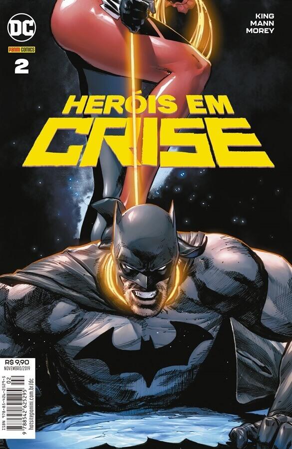 Heróis em Crise (Heroes in Crisis, DC) - Resenha 02