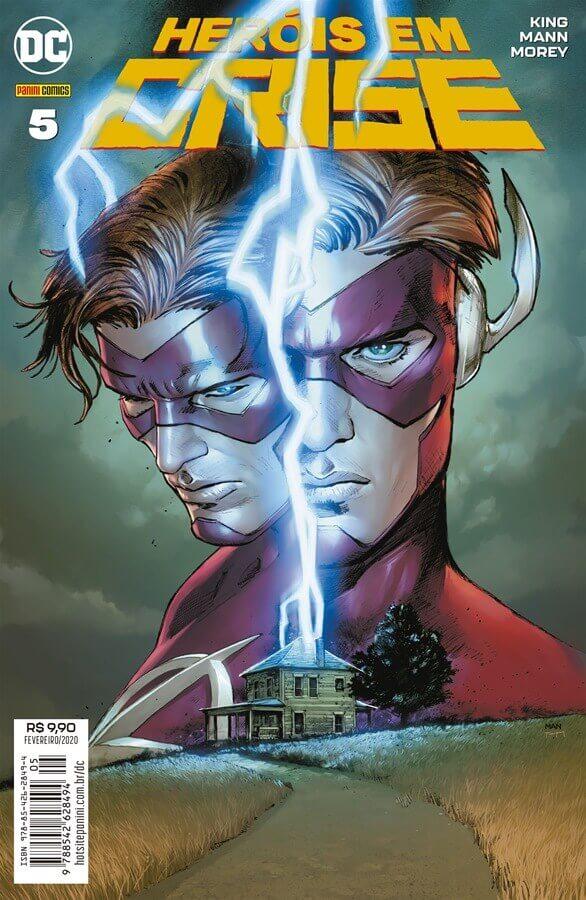 Heróis em Crise (Heroes in Crisis, DC) - Resenha - Flash Wally West