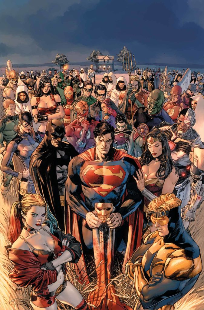 Heróis em Crise (Heroes in Crisis, DC) - Resenha 01