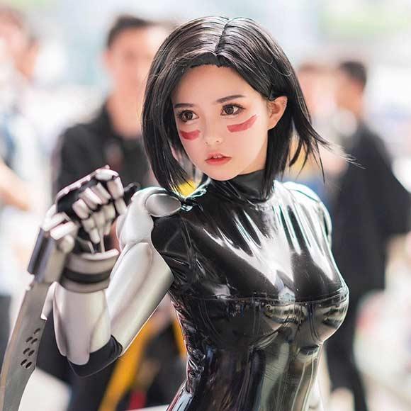 Cosplay de Alita: Anjo de Combate