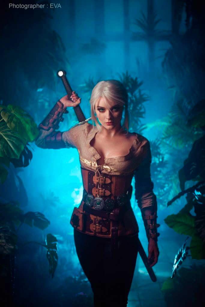 cosplay de Ciri de The Witcher