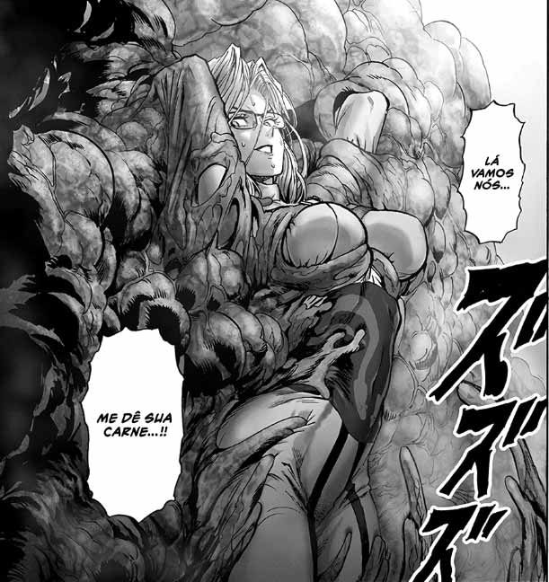 Luta de Tatsumaki em One Punch Man Capítulo 128